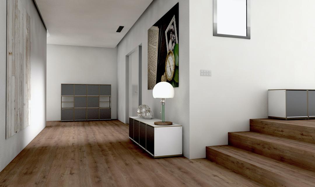 Drveni podovi u hodniku: savjeti i ideje